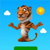 禅宗酷虎-让老虎尽情地跳跃和耍酷吧 1