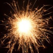 烟花火花 - 颜色为所有年龄爆炸