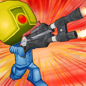 微小的机器人射击者 - 顶面3d乐趣机器人射击者 1