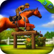 马 赛跑 冠军 -  疯 动物 骑 3D 1