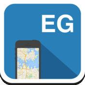 埃及(开罗,赫尔格达,沙姆沙伊赫) 离线地图,指南,天气,酒店。免费