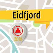 Eidfjord 离线地图导航和指南 1