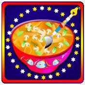 热水和玉米,鸡肉汤壶 - 自由的孩子,食物烹饪游戏