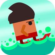 滑动冲浪 - 免费冲浪游戏