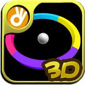 回旋色彩-世界上唯一一款免费疯狂任性的3D颜色休闲动作益智小游戏