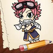 学习如何绘制赤壁动漫人物版