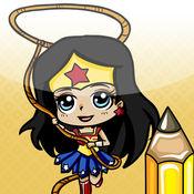 学习如何绘制赤壁风格超级英雄 1