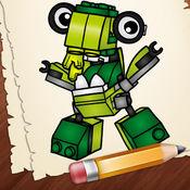 学习如何绘制LEGO mixels版 1