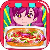 热狗快餐车 - 儿童游戏免费下厨房做饭 - 神马游戏