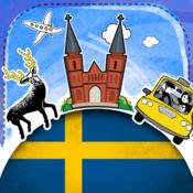 瑞典语字典 - 带有抽认卡和母语发音的免费离线短语手册 3.