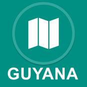 圭亚那 : 离线GPS导航 1