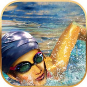 游泳世界大赛潜水运动真实模拟
