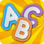 学习ABC拼图为孩子