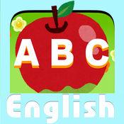学习英语婴儿童装婴童抽头英语 ABC