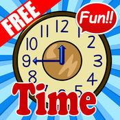Tell Time: 孩子学习在线免费 1.1.1
