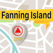 Fanning Island 离线地图导航和指南 1