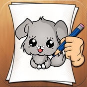 学着去画画 犬 3