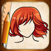 学画画的发型 1