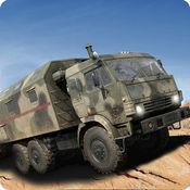 军用卡车驱动战区 1