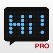 LED广告牌临 - 点阵字幕文本显示应用 - LED Banner Pro