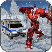 救护机器人变换3D 1