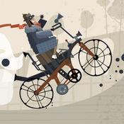 爷爷爱骑自行车登山 1
