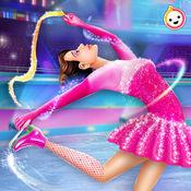 冰 溜冰 女孩 化妆 1