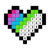 数字填色:画画游戏 (Color by Number)