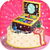 公主化妆盒蛋糕制造商