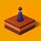 棋子向前跳 1