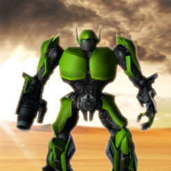 机器人枪战3D...