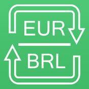 转换欧元为巴西雷亚尔 转换BRL为EUR 汇率单位换算