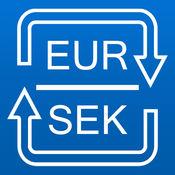 转换瑞典克朗为欧元 转换EUR SEK 汇率单位换算