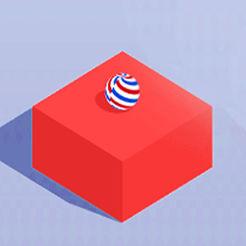 圆球跳跳跳一下单机游戏