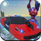 警察 徘徊 汽车 机器人 转变