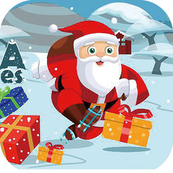 圣诞老人爱滑雪:幸运大挑战