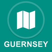 根西岛 : 离线GPS导航 1