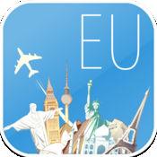 欧洲 离线地图和航班 1