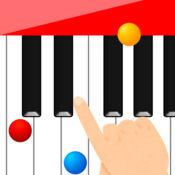 轻松钢琴为许多歌曲的孩子