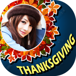 Thanksgiving Photo Frame Maker