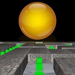 拐弯抹角3D: 吃豆豆迷宫三维立体游戏
