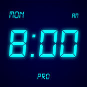 桌面时钟专业版 - 全屏显示,极简的电子数字时钟 1.1.1
