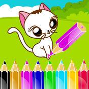 艾米宝宝学画猫,儿童学画画