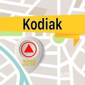 科迪亚克 离线地图导航和指南 1