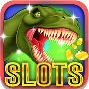 巨大的恐龙插槽:享受最好的街机游戏投注和滚动幸运霸王龙骰子