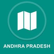 印度安得拉邦 : 离线GPS导航 1