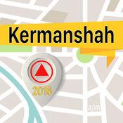 克尔曼沙赫 离线地图导航和指南 1