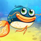 饥饿的鱼吃了高清