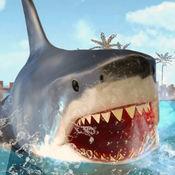 饥饿鱼狩猎 - 3D鲨鱼矛钓鱼游戏