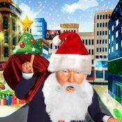 圣诞圣诞老人特朗普运行-最佳圣诞趣味运动会